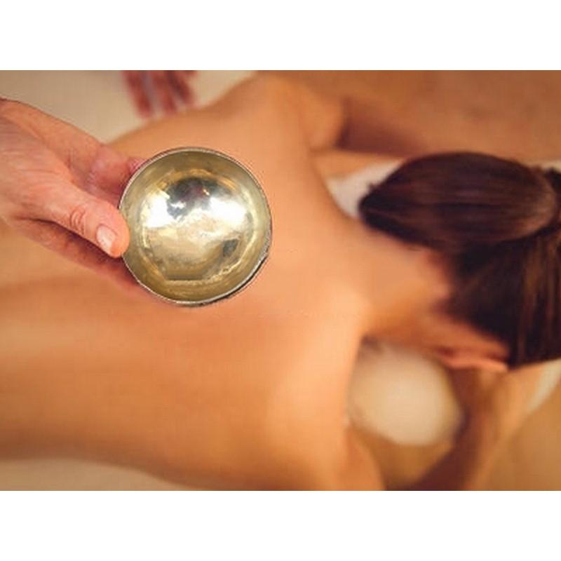 Massage au bol Kansu - Formation Massage Bien-Etre - Institut Lingdao