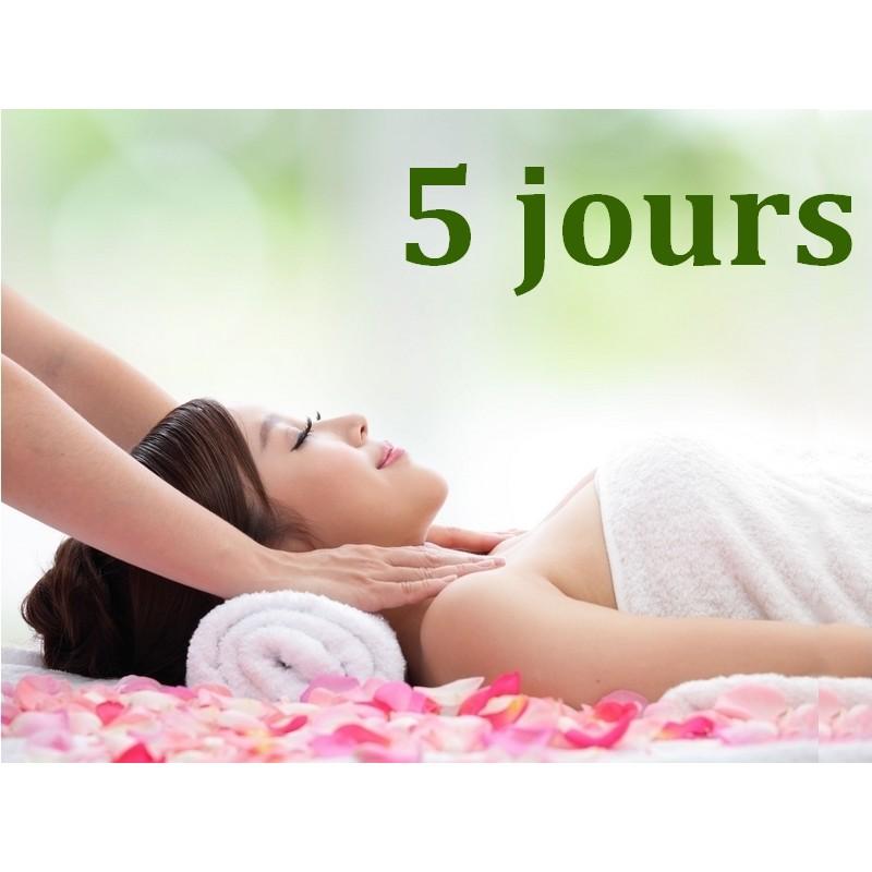 Massage Ayurvédique - 5 jours - Formation Massage Bien-Etre - Institut Lingdao