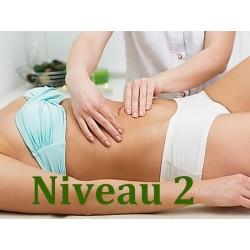 Massage Chi Nei Tsang du ventre - Niveau 2 - Formation Massage Bien-Etre - institut Lingdao
