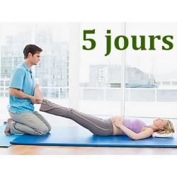 Relaxation coréenne - 5 jours -  Formation Massage Bien-Etre - Institut Lingdao