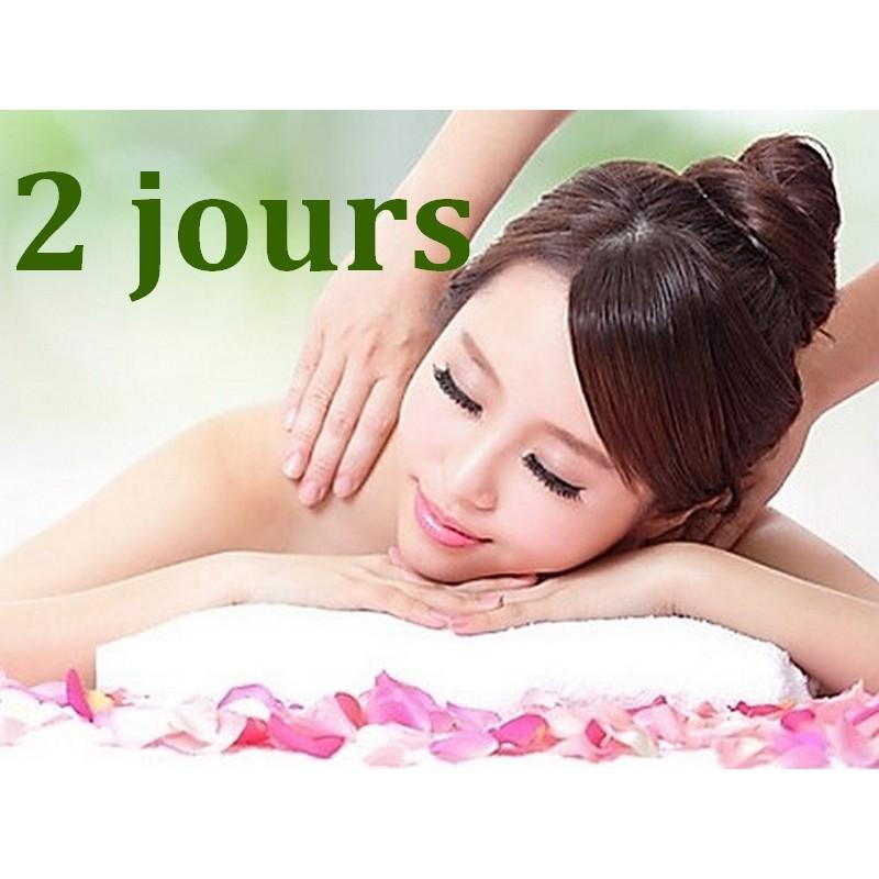 Massage Californien 2 jours - Formation Massage Bien-Etre - Institut Lingdao