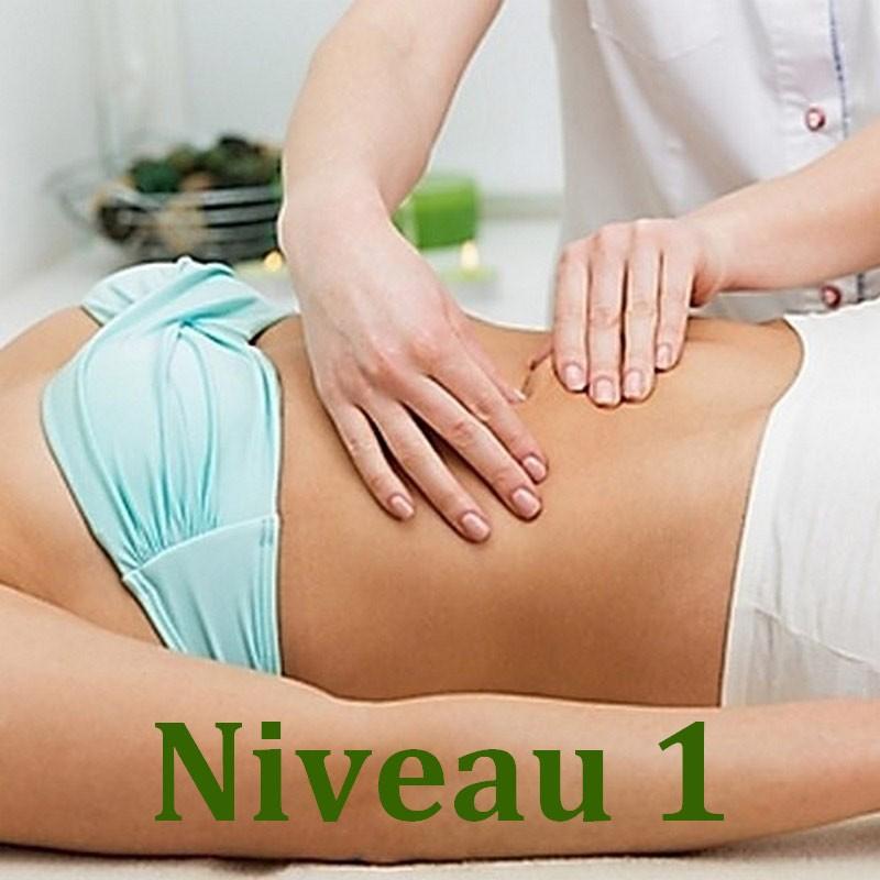 Massage Chi Nei Tsang du ventre - Niveau 1 - Formation Massage Bien-Etre - institut Lingdao